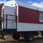 Жилые вагон-дома на шасси и на санях для ООО «НСК»
