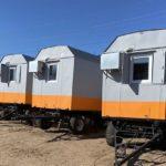 Жилые вагон-дома на шасси для ООО «Комтэк»